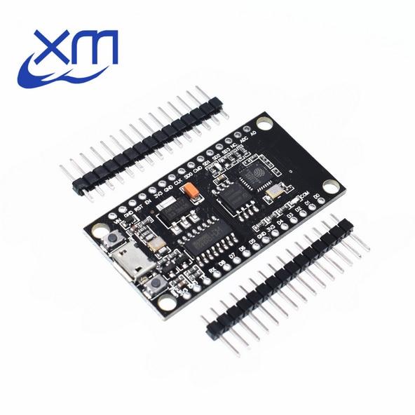 10pcs NodeMCU V3 Lua WIFI module integration of ESP8266 + extra memory 32M Flash, USB-serial CH340G A62 1