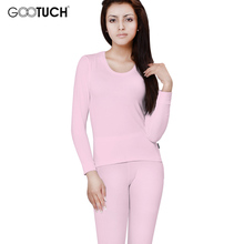 Winter Thermal Underwear Women's Cotton Long Johns Set 4XL 5XL 6XL Round-Neck Long Sleeve Ladies Body Shaping Undershirts 2452(China)