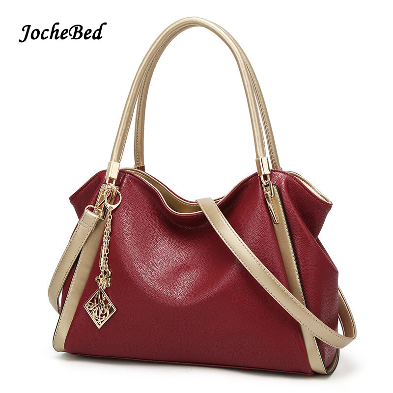 European Style Women Handbags Large Capacity Fashion Lady Bags Women Bag Over His Shoulder PU Leather Tote Bag Bag Summer<br>