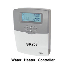 Solar Water Heater Controller Backup Heating Control Pump Control Thermal disinfection function Controller SR258