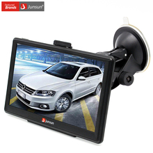 Junsun 7 inch Car GPS Navigation Bluetooth AVIN FM 8GB/256MB Capacitive Screen Sat Nav Free Map Update