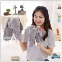 Online Get Cheap babies' Stuffed & Plush 30cm elephant toy for birthday Christmas gift stuffed soft toys elephant factory supply(China)