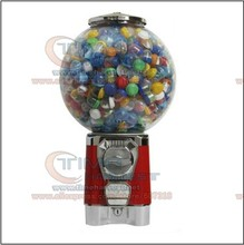 Good Quality Coin Operated Tabletop Gumball Vending Machine Desktop Capsule Vending Cabinet Toy Penny-in-the-slot Coin Vendor(China)