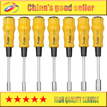 Free Shipping Brand Proskit 1PK-9402 7Pcs Electronic Hex Nut Driver Set, Precision Screwdriver Set