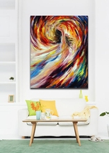 In The Vortex Of Passion-100% Hand Painted Impressionist Painting Gallery Body Art Canvas Wall Hangings for Home Office Hotel