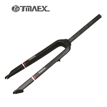"TMAEX- Newest 26""/ 27.5"" Inch Mountain Bike Full Carbon Front Fork MTB Bicycle Disc Brake Carbon Fork 3K Matte 520g(China)"