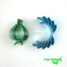 Free Shipping Sales Promotion MJX F45 F645 spare parts accessories Combo-017 heat sinks of main motor and tail motor (green)(China)