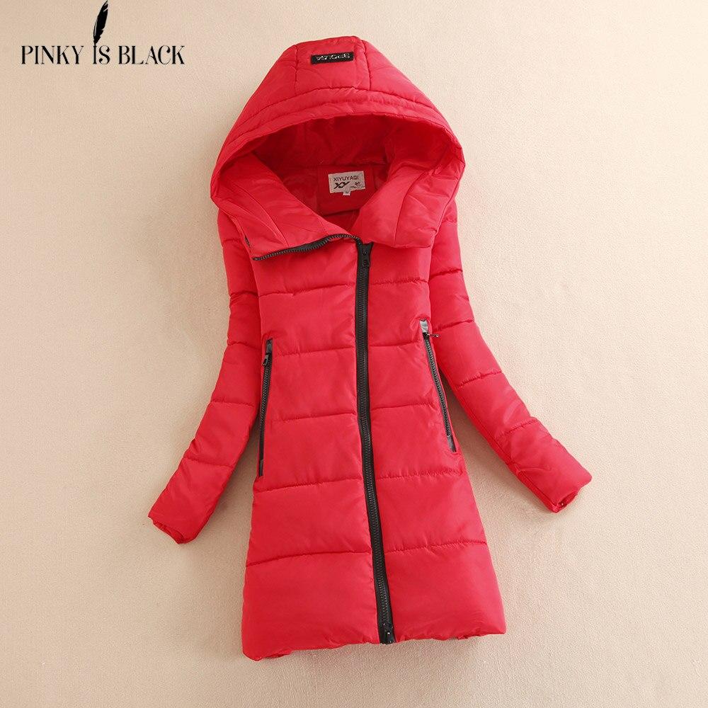 Pinky Is Black 2017 thickening wadded jacket outerwear winter jacket women parka cotton-padded jacket hooded jacket and coatÎäåæäà è àêñåññóàðû<br><br>