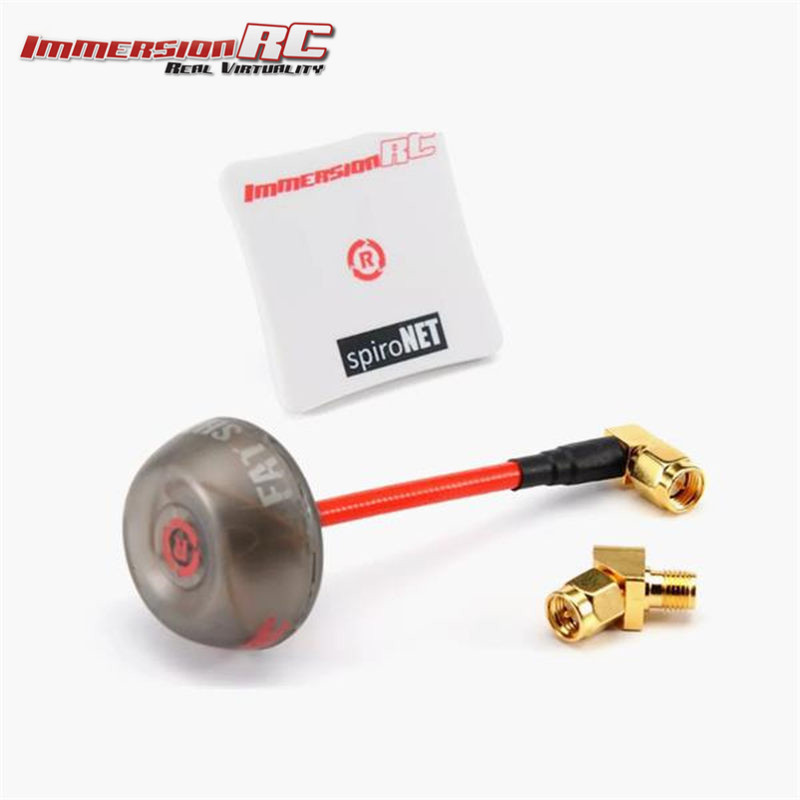 ImmersionRC SpiroNET V2 5.8GHz LHCP Diversity Bundle Omni 8dBi Patch FPV Antenna w/ 45 Degree SMA For RC Models FPV Goggles<br>