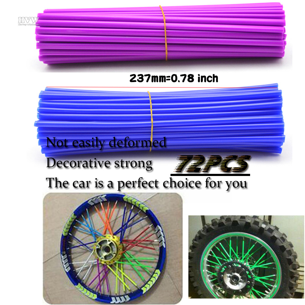 Moto Spoke Wrap Kit 10 to 16 Rims Skins Covers Wraps moto<br><br>Aliexpress