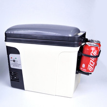 Smad 24L 12V Portable Car Mini Fridge Truck Refrigerator 110V Office Dorm Food Warmer Cooler Box High Quality Camping Fridge