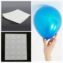 100points Balloon attachment glue dot attach balloons to ceiling or wall balloon stickers