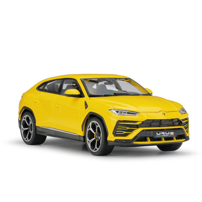 Yellow Highly Detailed Model Diecast Car Bburago 1:18 Lamborghini Urus