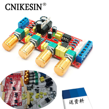 CNIKESIN diy HIFI Enthusiast Tone plate NE5532 Level board power amplifier front board before bulk, diy electronic suite(China)