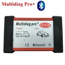 Quality A+ Multidiag pro+ with Bluetooth vd tcs cdp pro 2015.R1 free active Multi Diag pro+ For cars & trucks diagnostic tool(China)