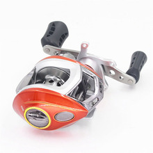 Classic baitcasting reel 6+1 ball bearings carp fishing gear Right/Left Hand bait casting fishing reel Free Shipping(China)