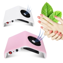 Gustala 220V/110V Nail Dust Collector Nail Fan Acrylic UV Gel Dryer Machine Art Salon Suction Dust Collector Vacuum 30W Cleaner