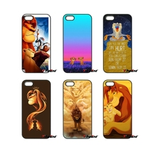 For Moto E E2 E3 G G2 G3 G4 G5 PLUS X2 Play Nokia 550 630 640 650 830 950 The Lion King Art Pattern Cell Phone Case Cover(China)