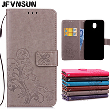 Buy Samsung Galaxy J3 2017 Case SAMSUNG J3 2017 J330 Cases Retro Emboss Flowers Pattern Magnetic Wallet Leather Flip Cover for $3.98 in AliExpress store