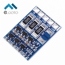 3S 4.2V DIY 66mA 18650 Lithium Battery Charger Protection Board Balance Function Polymer Li-ion Charging Module BMS