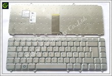Spanish Keyboard For Dell inspiron 1400 1520 1521 1525 1526 1540 1545 1420 1500 XPS M1330 M1530 NK750 PP29L M1550 Silver SP(China)
