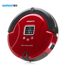 Automatic Robotic Vacuum Cleaner with LCD Screen, Two Rolling Brush and Vacuum, Carpet Cleaner, Seebest C561, Russia Warehouse