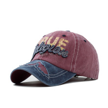 Denim hats 55-61cm New 2015 Spring and autumn summer hats lovers hat Cap Snapback Women and men Baseball Caps F167