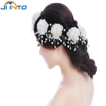 New fashion Bride Headdress  pearl jewelry marriage crystal Hairpin Wedding Decoration Party photo props