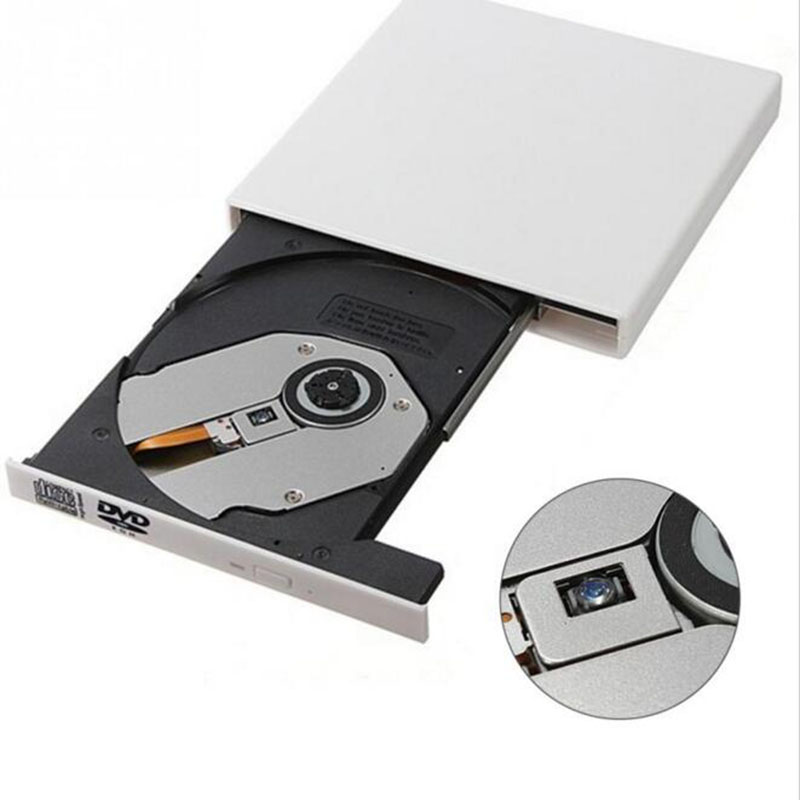 Portable CD RW Burner Writer USB 2.0 External DVD ...