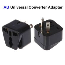 100pcs US EU UK To AU Plug Adapter America European To Australia Universal AC Travel Power Adapter Converter Outlet