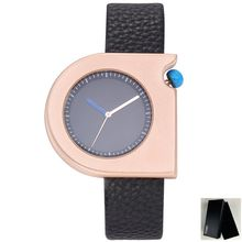 TOMI Unique Stylish Style Simple Fashion Mens' Ladies Watch Casual Leather Bracelet Women Clock Hand Man Quartz Wristwatch Lady