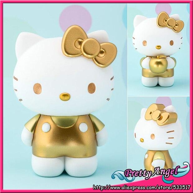 Japan Anime Original Bandai Tamashii Nations Figuarts ZERO Collection Figure - Hello Kitty (Gold)<br>