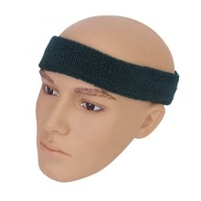 Best Sale 1x Headband and 2x Elastic Wrist bands for Sports - Dark green