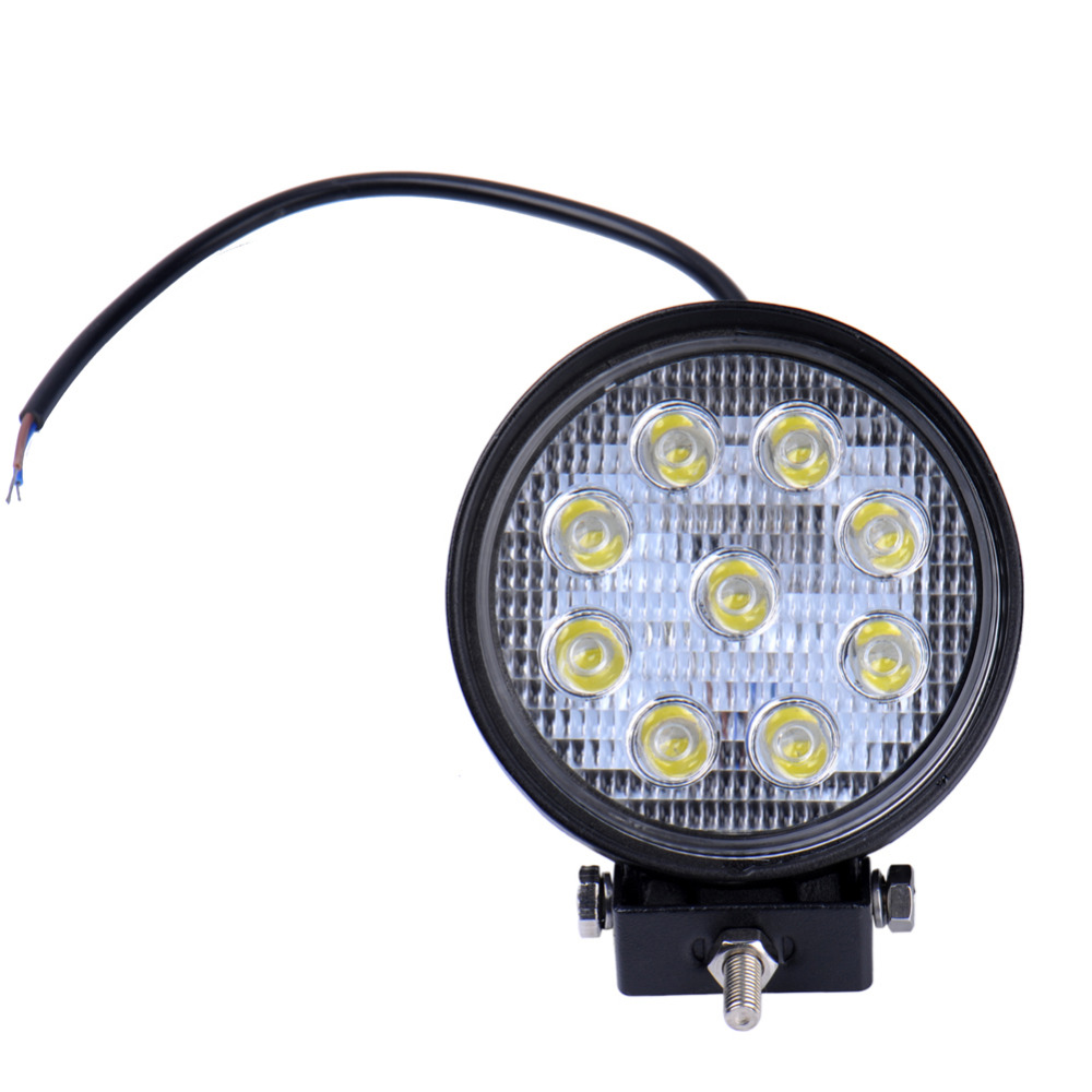 2PCS SUV 27W  led work light spot beam car truck trailer Tractor led worklight Motorcycle offroad work lamp Working Lights<br><br>Aliexpress