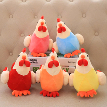 2016 New Creative Plush Toy Chicken, Chicken Five Colors Plush Toys,Plush Stuffed Animal , Children's Gifts