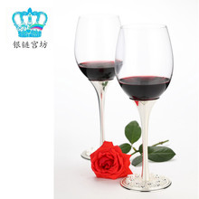 Fashion royal pearl luxury banquet diamond romantic grapes goblet wine glass