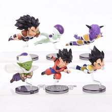 Dragon Ball Z The Historical Characters Vol.1 6pcs/set Goku Frieza Raditz Piccolo Vegeta Ginyu PVC Figures Toys Brinquedos(China)