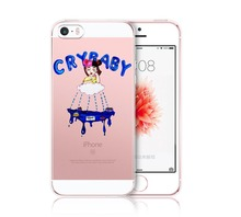 Melanie Martinez Cry Baby Hard Transparent Cover Case For Apple iPhone 4 4S 5C 5S SE 6 6S Plus 7 Plus Clear Cell Phone Cases(China)