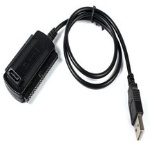 New USB 2.0 to IDE SATA Converter Adapter Cable for 2.5 3.5 Hard Drive Disk HDD ju15(China)
