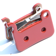 1 pair MTB Red Sintering Full Metal Disc Brake Pads for S M596/SLX M665/M775/M765/M596  Brake Pads High Quality