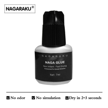 NAGARAKU Eyelash Extension Glue Professional Use Only Fast Drying Type False Eyelash Extension Glue Eyelash Adhesive