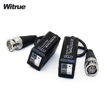 Witrue 10pairs/lot video balun for AHD/HDCVI/HDTVI Twisted BNC CCTV Video Balun UTP Balun BNC Cat5 CCTV UTP Video Balun