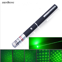 100mW Red Green Laser Sight Adjustable Lazer Designator Illuminator Hunting Laser Pointer (without battery)