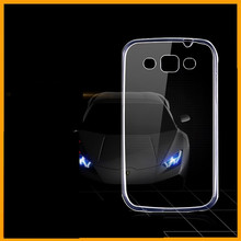 Ultra Thin Transparent Clear TPU Case For Samsung Galaxy Win i8552 8552 Crystal Back Protect Rubber Silicone Mobile Phone Case