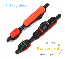 1pcs of DIY fishing reel holder replacement fishing holder spinning rod pesca fishing rod accessories pole tackle tools
