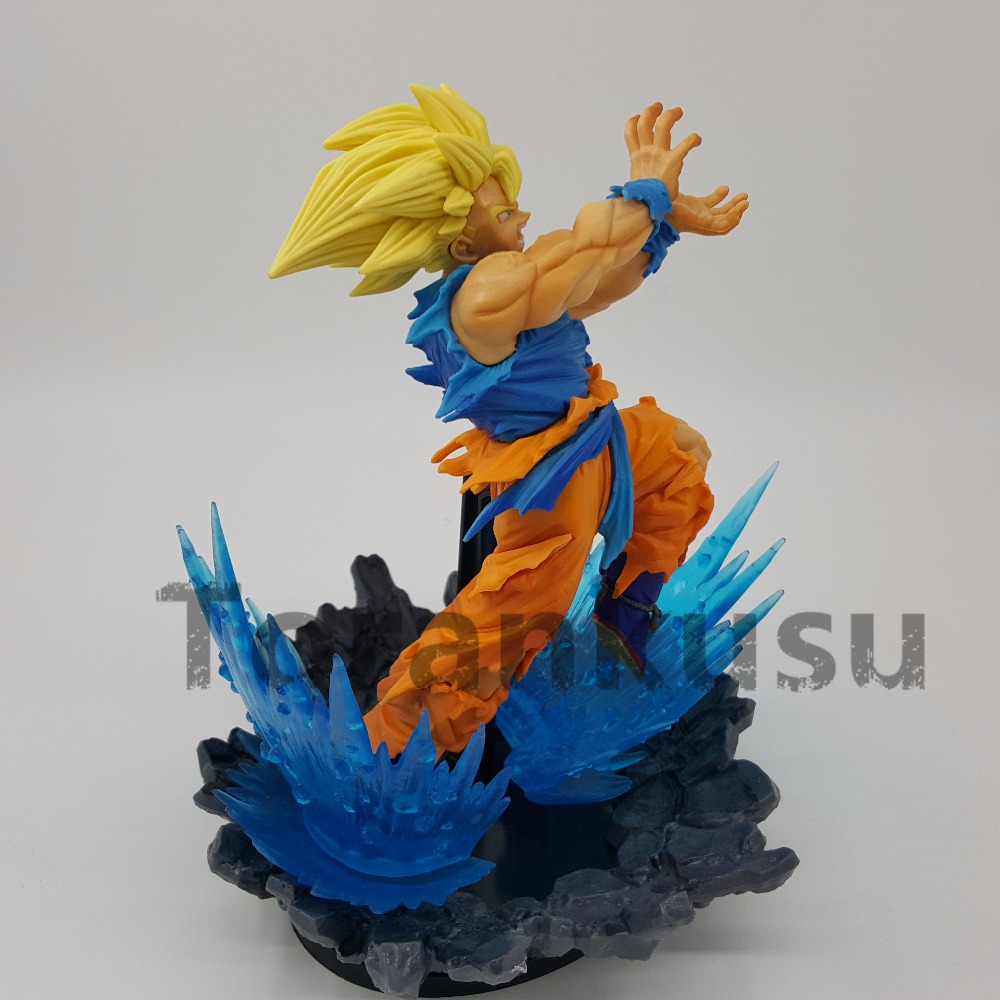 Dragon Ball Z Action Figures Son Goku  Power Base PVC 180mm Super Saiyan Anime Dragon Ball Super Goku figure  Model Toy DBZ
