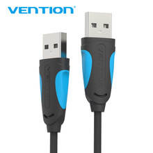 Vention USB Male to Male Extension Cable 480Mbps High Speed Data Transfer USB Cable Extender for Radiator Car Speaker HD Webcom(China)