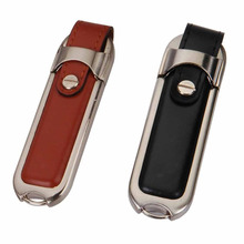 High Speed Leather USB 2.0 Flash Drive Maximum Speed: Write: 80m/s Read: 110m/s Pen Drive 16gb 32gb 64gb 128gb Usb Stick