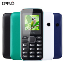 Original IPRO BEE II 1.5 inch Unlocked Phone for Elderly Dual SIM Mobile Phone Super Big Speaker FM BT Torch Russian Language(China)