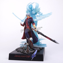 EZHOBI TOYS Devil May Cry 4 NERO Pre-painted Collectible Figure 32cm EMS Free Shipping